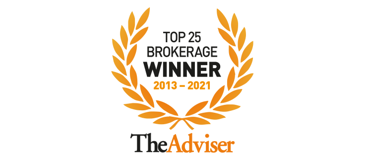 Top 25 brokerage award 2013 to 2021