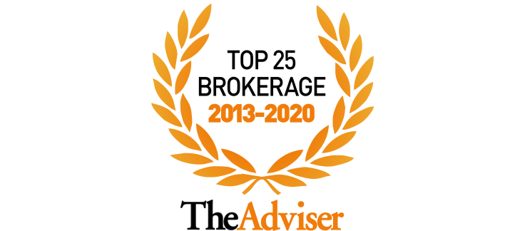 Top 25 brokerage award 2013 to 2020