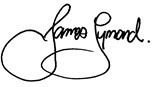 james symond signature