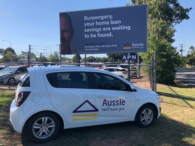 Aussie Burpengary Mortgage Broker Billboard